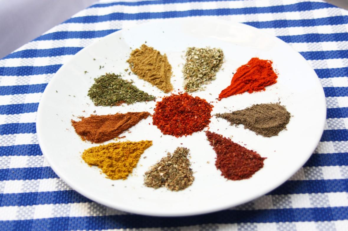 Spice plate