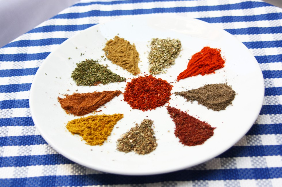 Spice plate